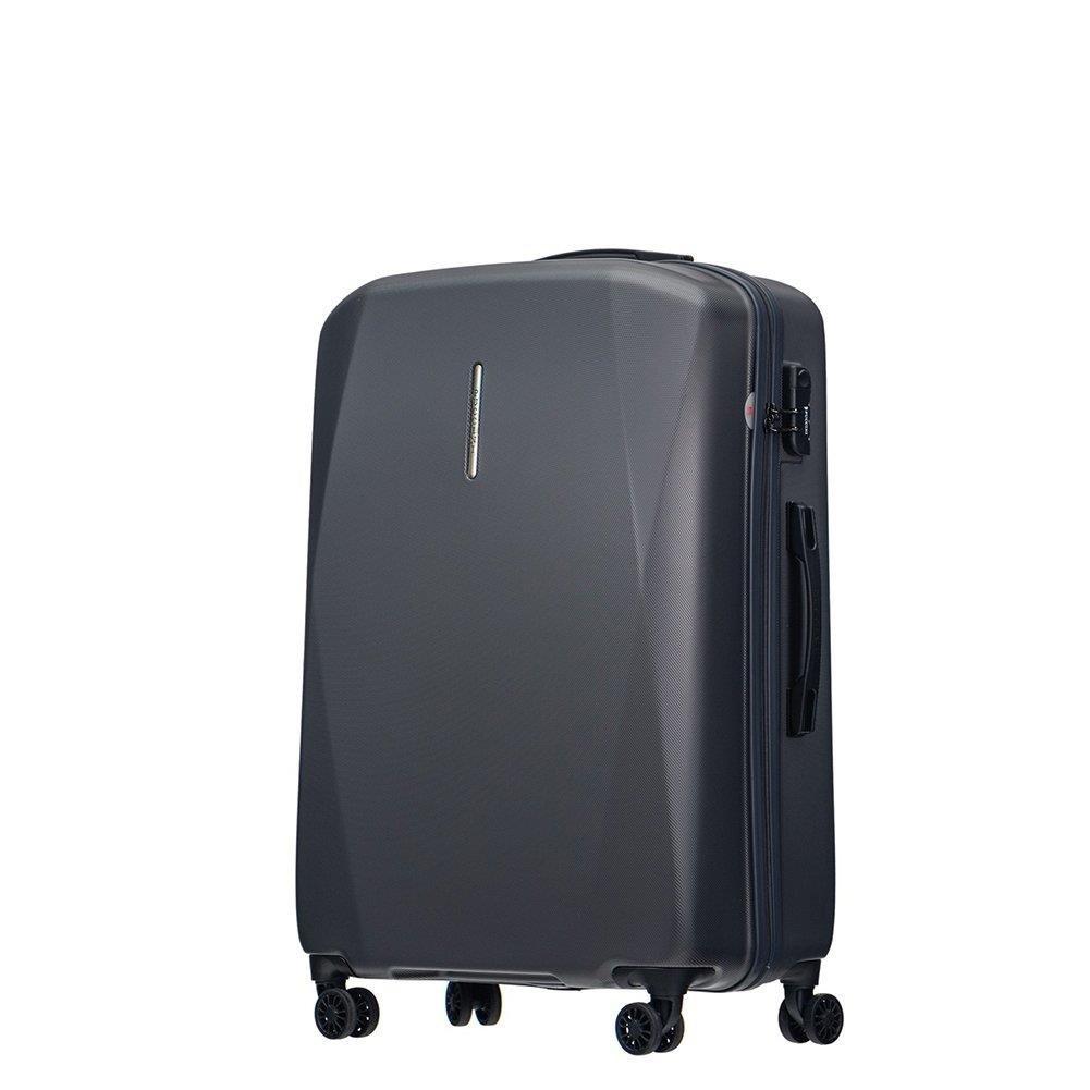 e437c9cac6052 Duża walizka PUCCINI SINGAPORE PC026A 4 Szara - Bagażownia.pl